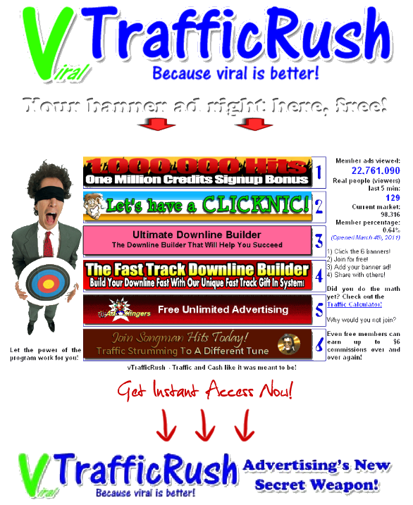 Real Viral Traffic at vTrafficRush.com!