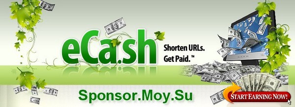 Sponsor.Moy.Su  -  CashInLink - Free Viral URL Shortener Earns You Easy! Money Doing What You're Already Doing